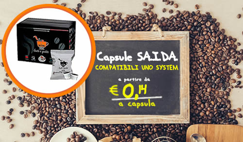 Capsule SAIDA espresso bar Compatibili Uno System