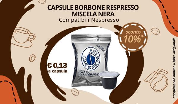 Capsule Borbone Represso compatibili Nespresso
