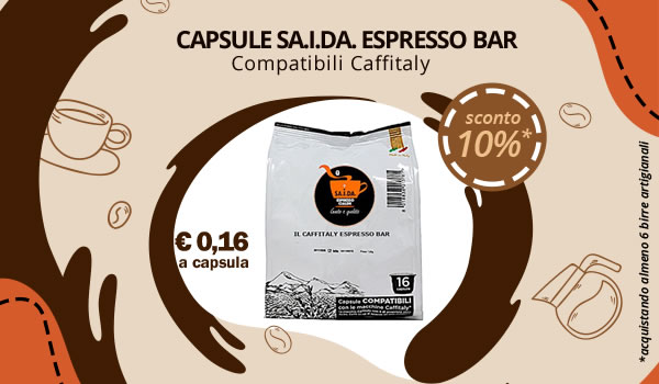 Capsule Espresso Bar SA.I.DA. compatibili caffitaly