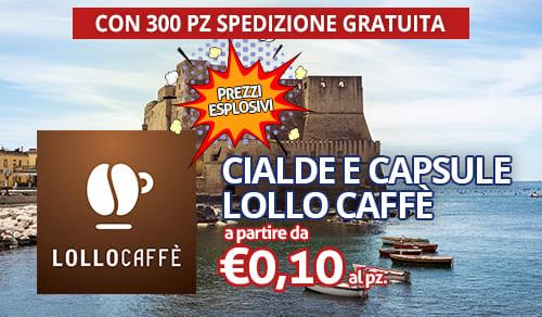 cialde e capsule caffè Lollo