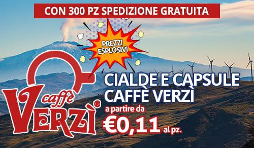 cialde e capsule caffè Verzì