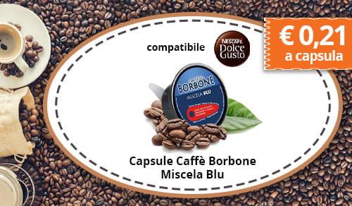 Capsule Caffè Borbone Miscela Blu