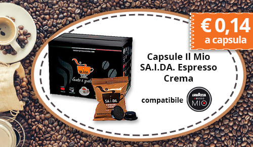 Capsule Il Mio SA.I.DA. Espresso Crema Compatibili Lavazza A Modo Mio