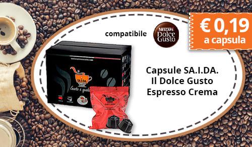 Capsule SA.I.DA. Il Dolce Gusto Espresso Crema