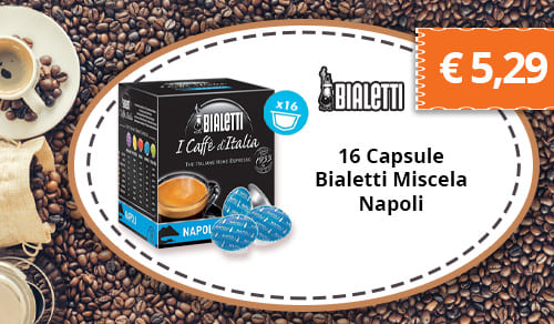 16 Capsule Bialetti Miscela Napoli