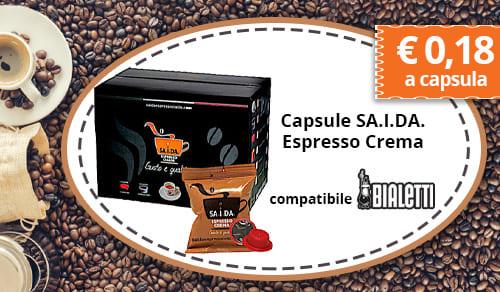 Capsule SA.I.DA. Espresso Crema
