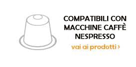 Capsule compatibili con macchina da caffe Nespresso